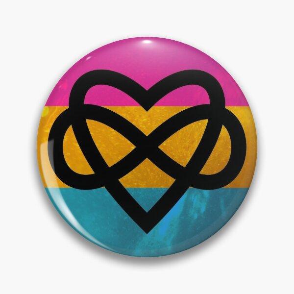 Polyamorous Pansexual Pride Pin