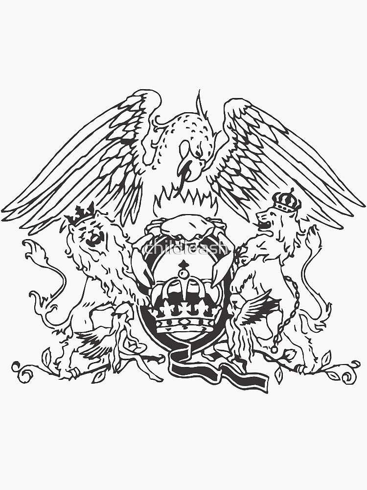 emblema de la reina de childleash