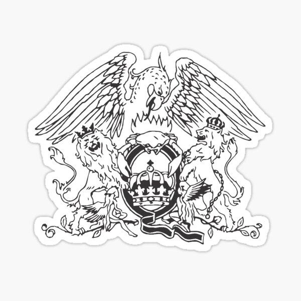 emblème de la reine Sticker