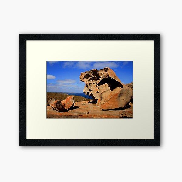 Dali Landscape Framed Art Print