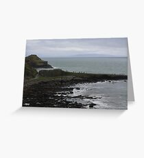 Giant's Causeway in County Antrim Ireland Greeting Card