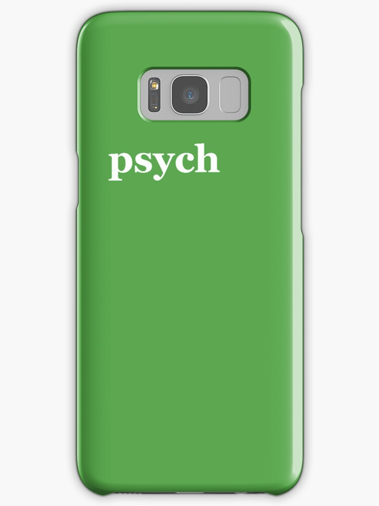 Psych Logo Iphone Cover by miztayk