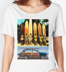 Cool Babes & Hot Rod Women's Relaxed Fit T-Shirt