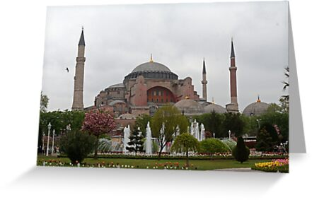 Hagia Sophia Istanbul Turkey by renprovo