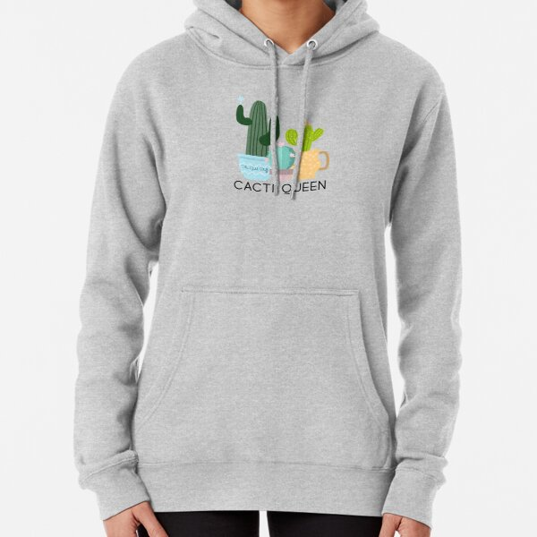 Cacti Queen (v1) Pullover Hoodie