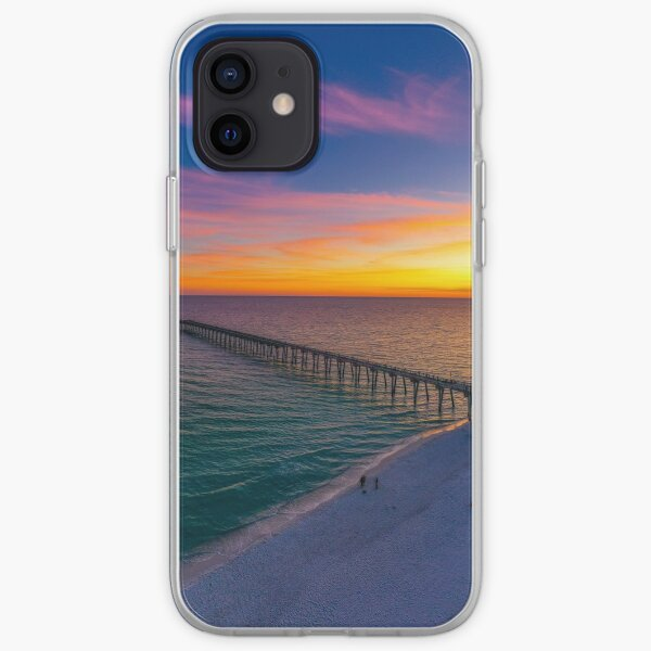 November Sunset iPhone Soft Case