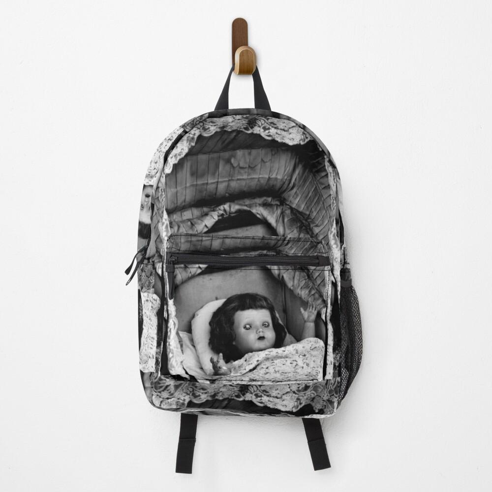 Creepy Doll Backpack