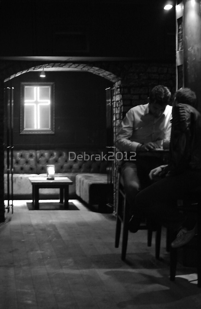 Men in Liverpool bar  by Debrak2012