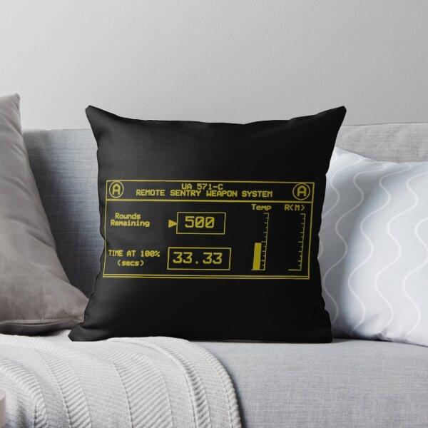 A Gun Throw Pillow