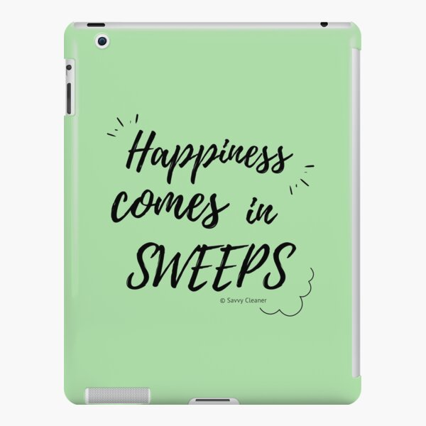 Happiness Comes in Sweeps iPad Snap Case