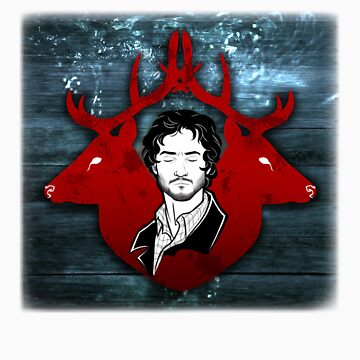 "Will Graham ""Spilling"" (Square) by Criss-Crossed"