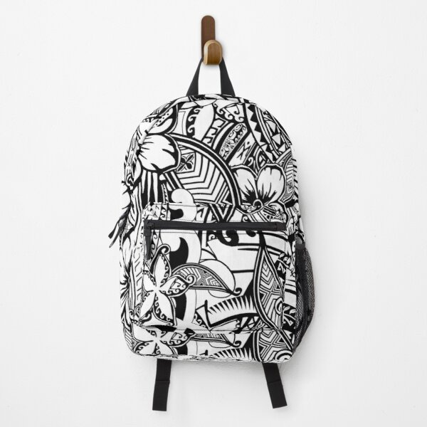 It's Not Always Black Or White Polynesian Tattoos Backpack