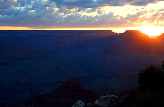 GRAND CANYON NATIONAL PARK ARIZONA AUGUST 2008 by photographized