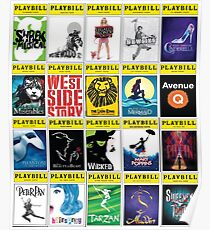Broadway Greats Poster