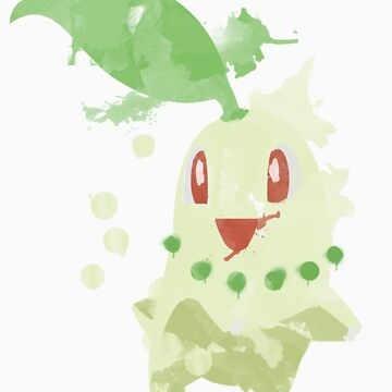 Chikorita Graffiti by niterune