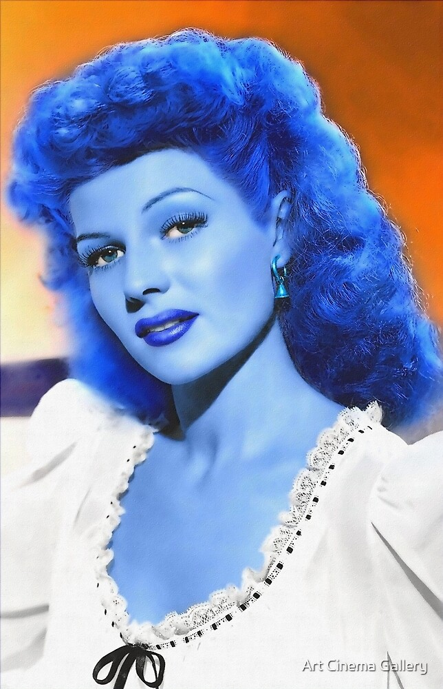 Rita Hayworth in The Lovers of Carmen by Art Cinema Gallery
