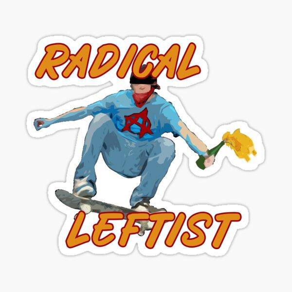 Radical Leftist Stickers Redbubble