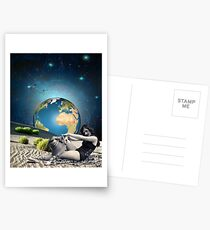 Earth bathing Postcards