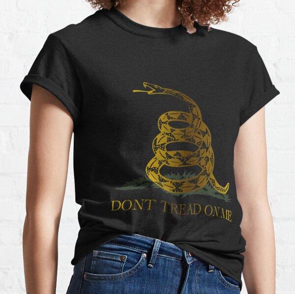 Libertarian Gadsden Gold Classic T-Shirt