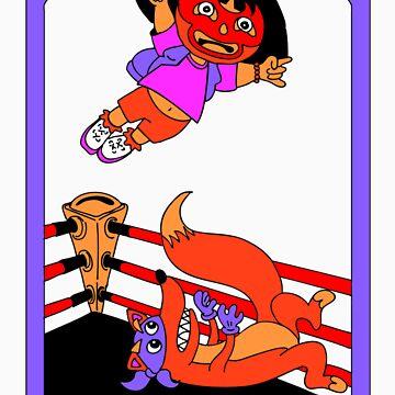Luchadora by HoboTrashcan