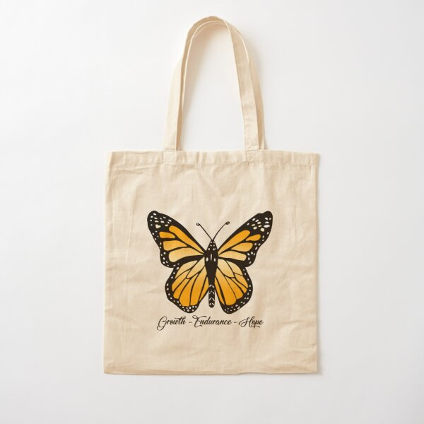 Monarch Butterfly  Cotton Tote Bag