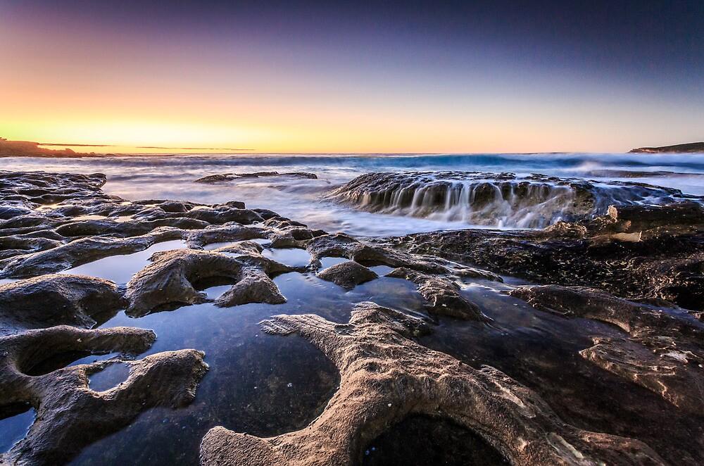 Maroubra Waterfall by Bill Karayannis