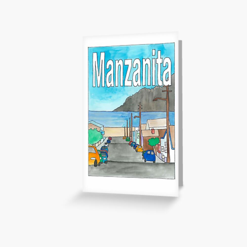 Manzanita Greeting Card