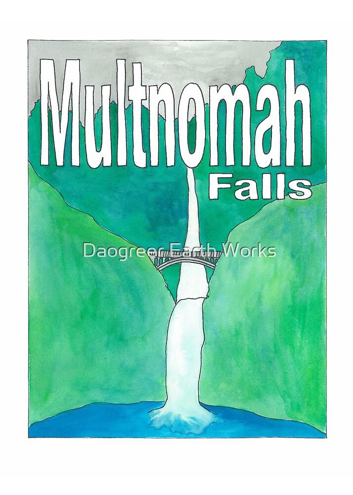 Multnomah Falls by Daogreer Earth Works
