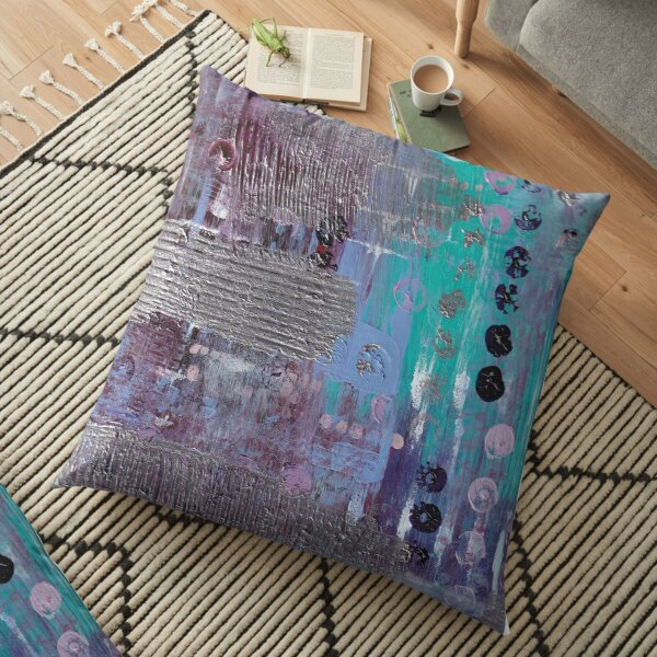 Iso Painting #1 Floor Pillow