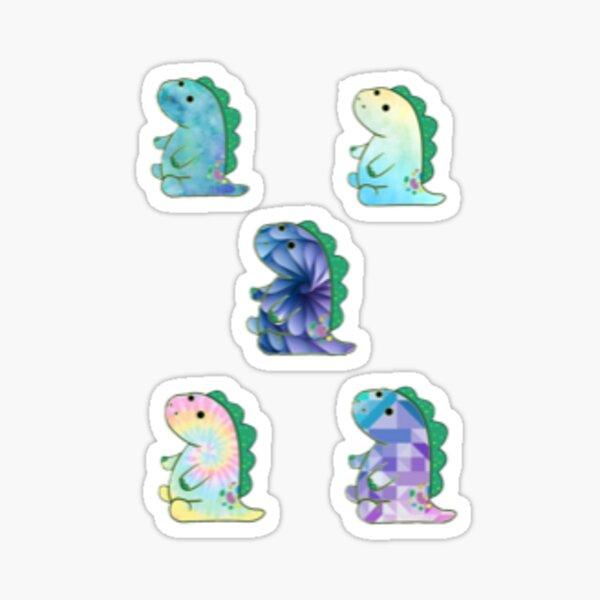 Pickle the dinosaur multi pack patterns   Sticker