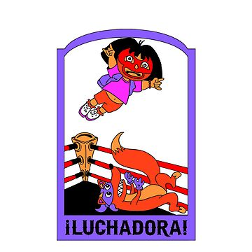 Luchadora iPhone by HoboTrashcan