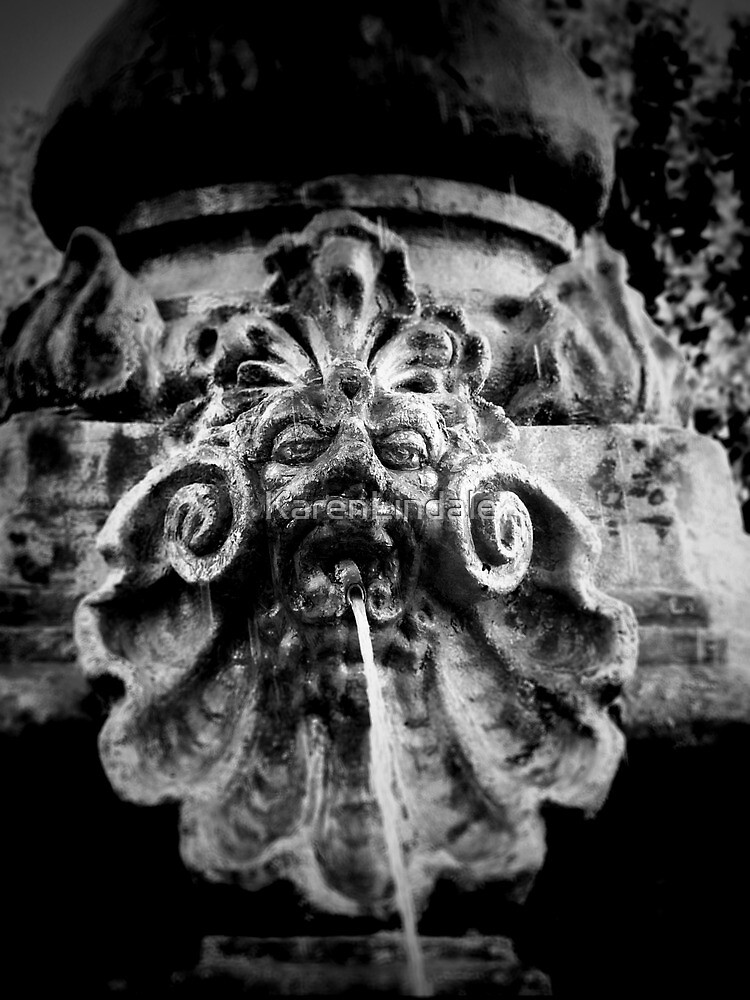 Fountain Face by KarenLindale