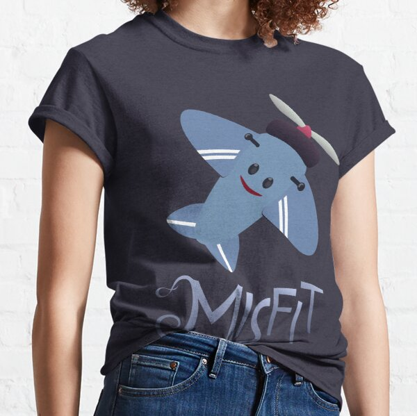 Misfits - Plane Classic T-Shirt