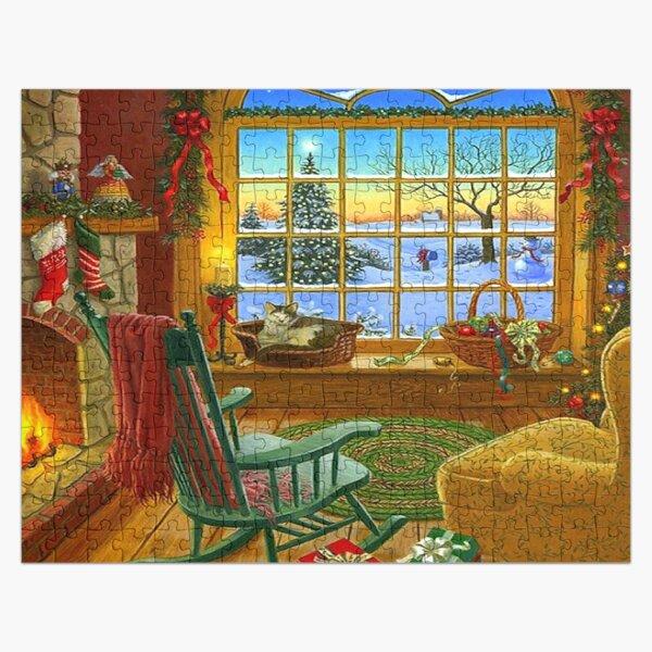 Festive Christmas Holiday  Jigsaw Puzzle