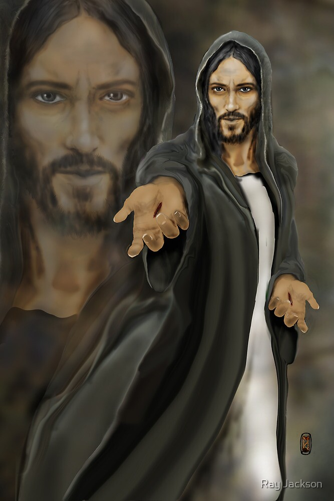 """JESUS """"WHY DO YOU DOUBT ME? """" by Ray Jackson"""