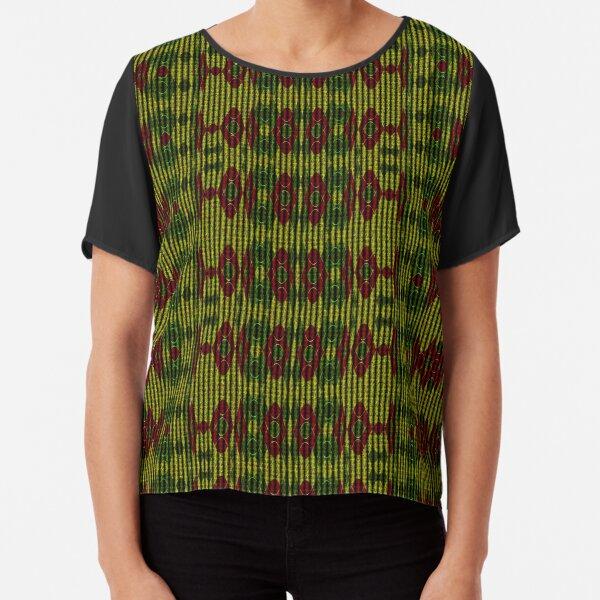 Persian Wool Chiffon Top