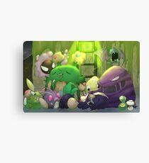Poison Pokemon Canvas Print