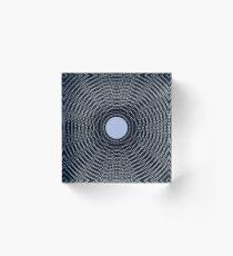 Atom Moon Acrylic Block