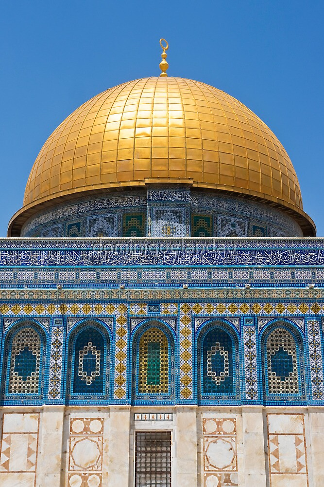 Dome of the Rock in Temple Mount by dominiquelandau