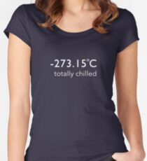 Totally Chilled - (Celsius T shirt) Women's Fitted Scoop T-Shirt