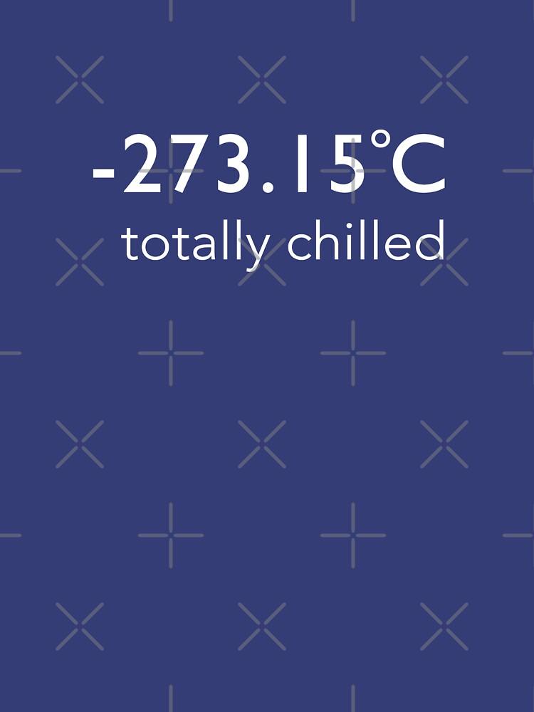 Totalmente refrigerado - (camiseta Celsius) de BlueShift
