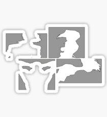 Cowboy Bebop Panels Sticker