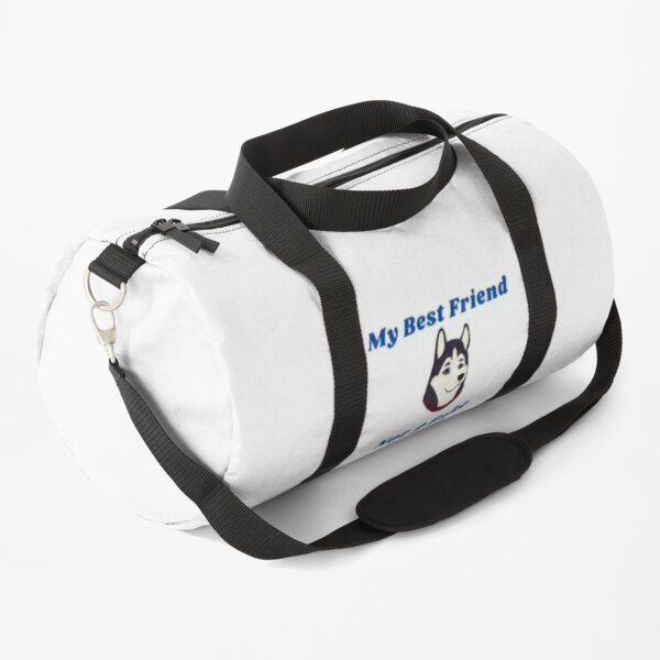 Fake friends-My dog is my best friend Duffle Bag
