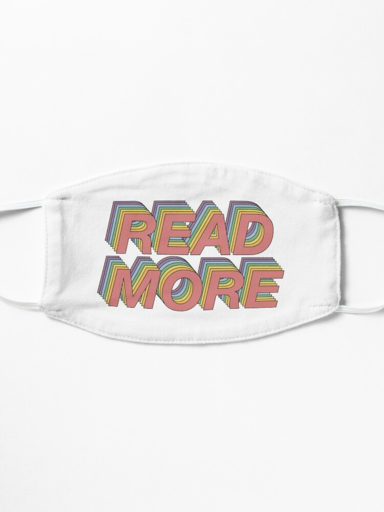 Alternate view of Read more! Mask