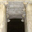 At the Jefferson Memorial by Bine