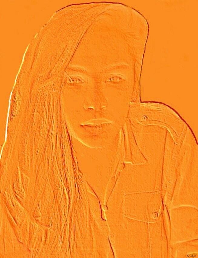 Elle -- Jeune fille d'or. by Bloodnok