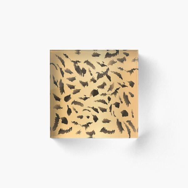 Amur Leopard Acrylic Block