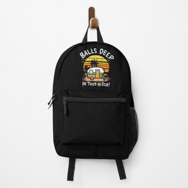 Funny Camping Quote - Vacation Camper Gift Backpack