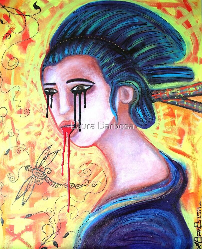 Crying Geisha Tears by Laura Barbosa
