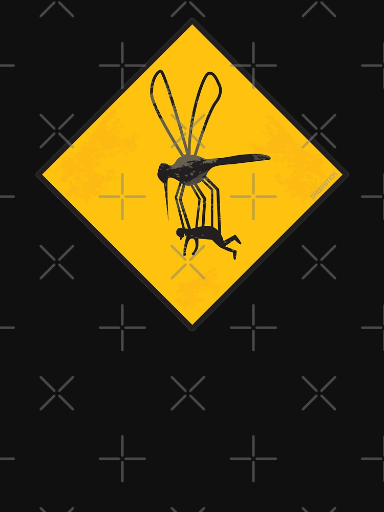 Warning Sign - Mega Mosquito Zone by thedrumstick